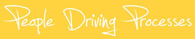 people driving processes-testo